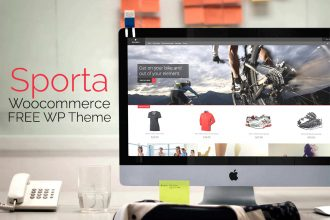 Sporta: FREE WordPress Responsive Ecommerce Theme