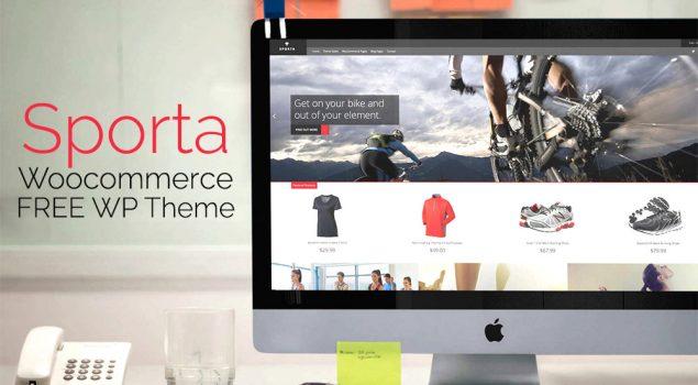 Sporta: FREE WordPress Responsive Ecommerce Theme