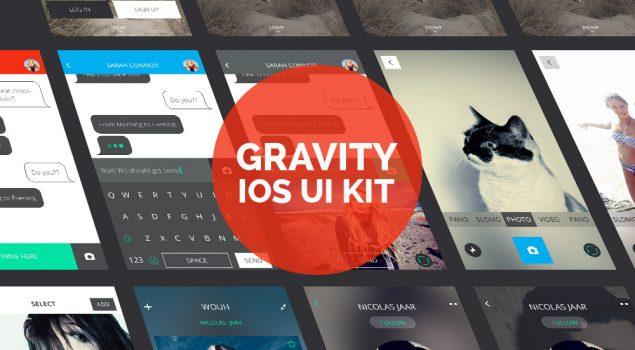 Gravity: iOS Design UI Kit