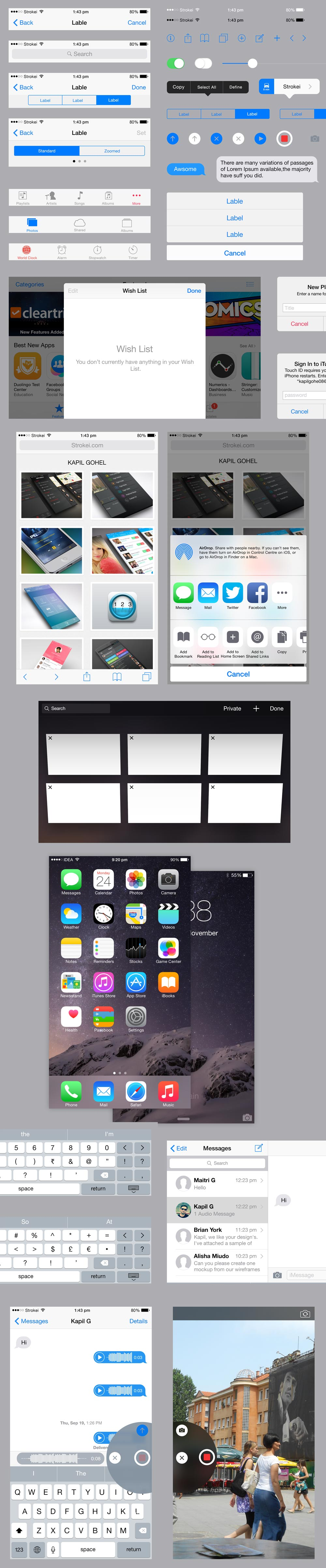 ios-iphone6plus-ui-kit