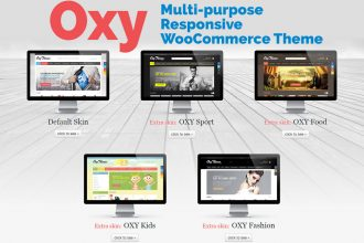 Giveaway: Win a Copy of OXY Multi-Purpose Responsive WooCommerce Theme