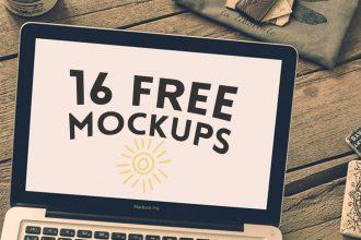 16 Free Hip Mockups Bundle