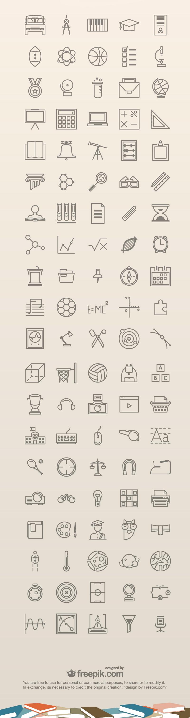 100-free-education-icons