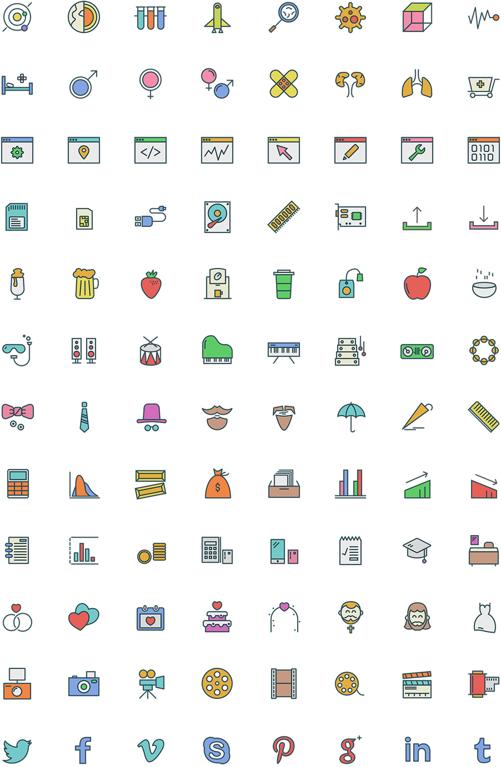 free-colored-icons