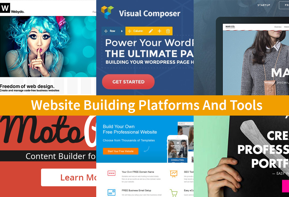 15 Website Building Platforms And Tools That Make You More Productive