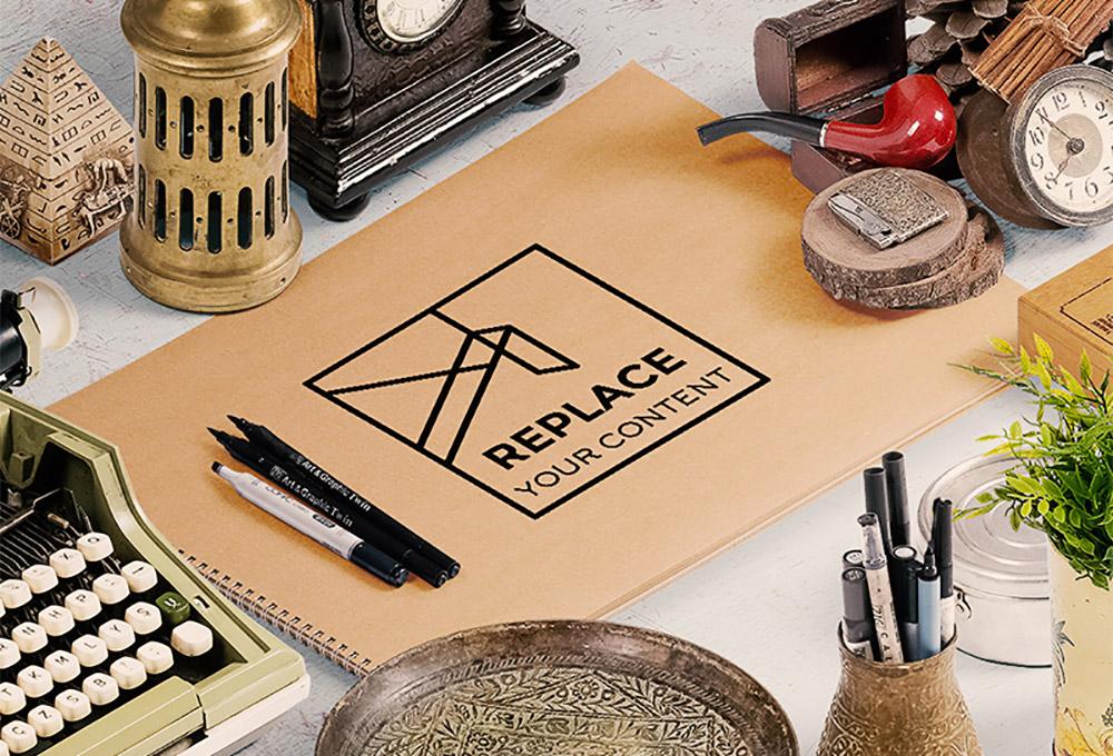 Free Art Scene Generator Mockup Kit