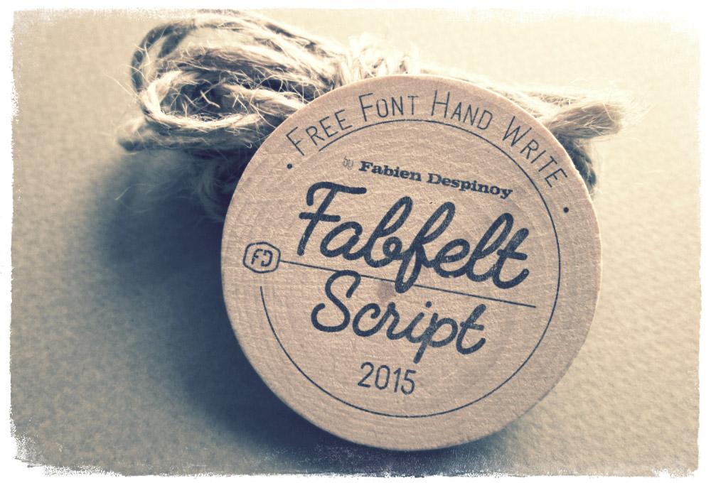 Fabfelt Script: Free Handwritten Font