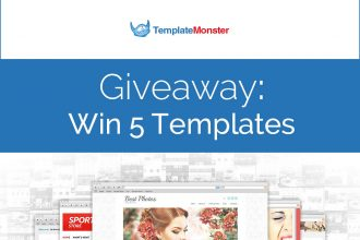 Giveaway: Win 5 Templates From TemplateMonster