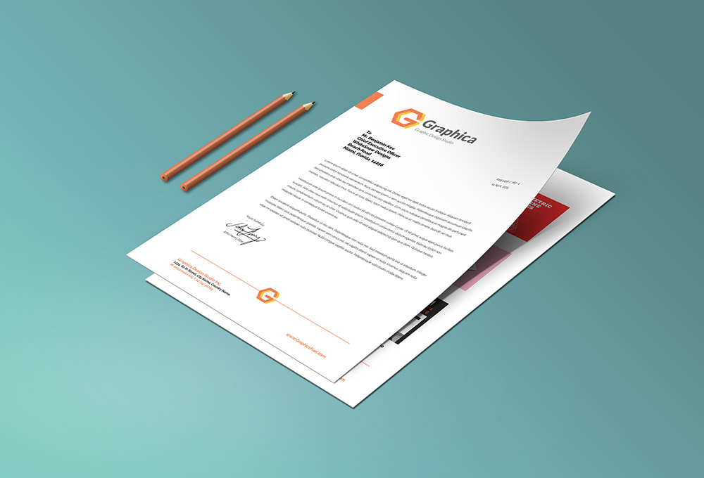 Letterhead and paper portfolio mockup psd graphicsfuel letterhead portfolio paper psd mockup spiritdancerdesigns Image collections