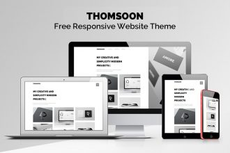THOMSOON: Free Responsive Portfolio Theme