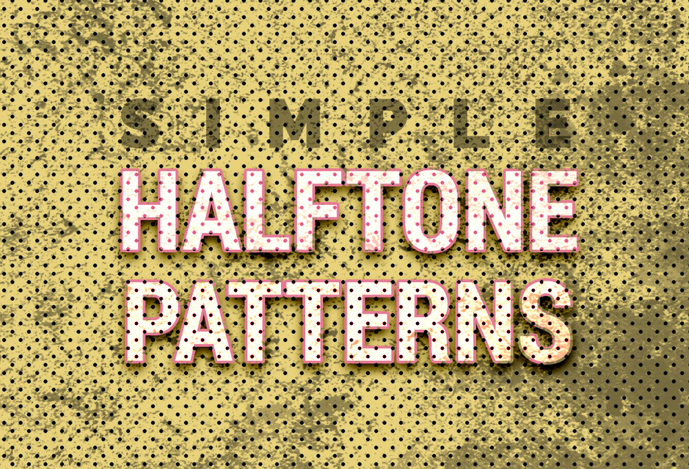 16 Free Halftone Seamless Patterns - GraphicsFuel