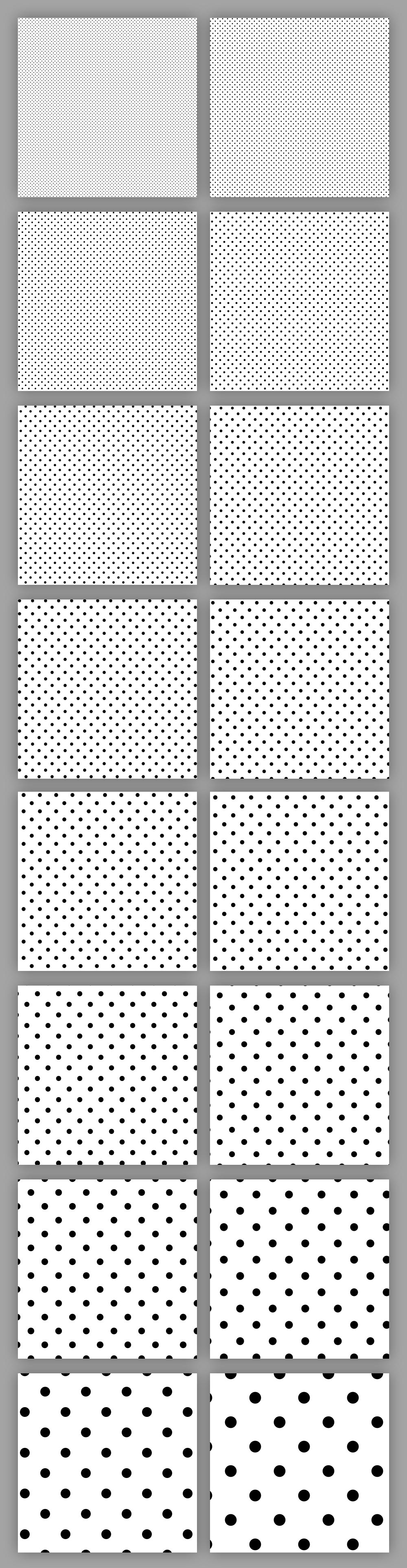 halftone-patterns