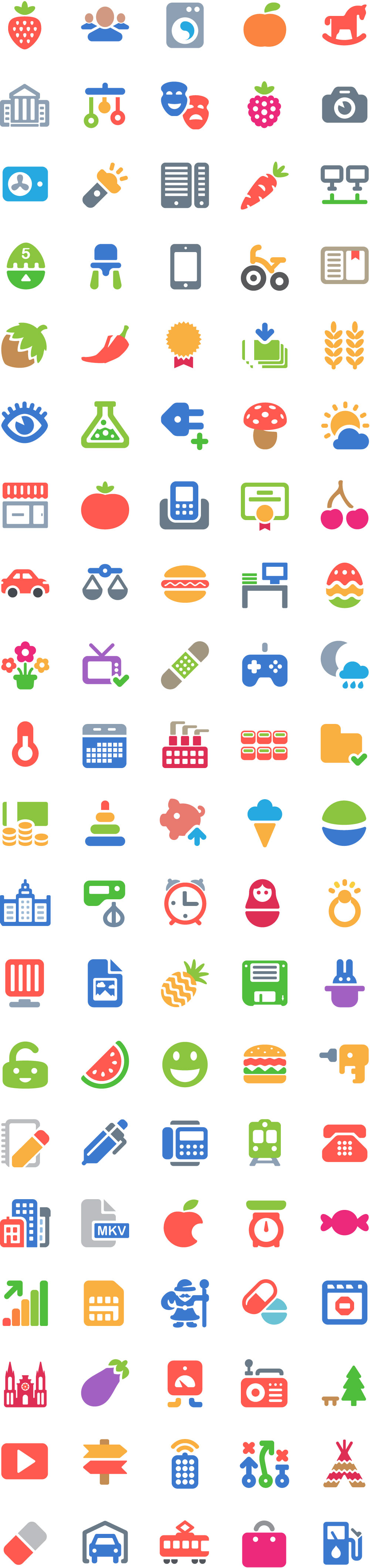 100-free-color-icons