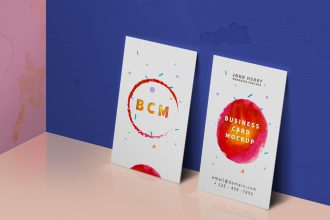 Business Card Mockup PSD