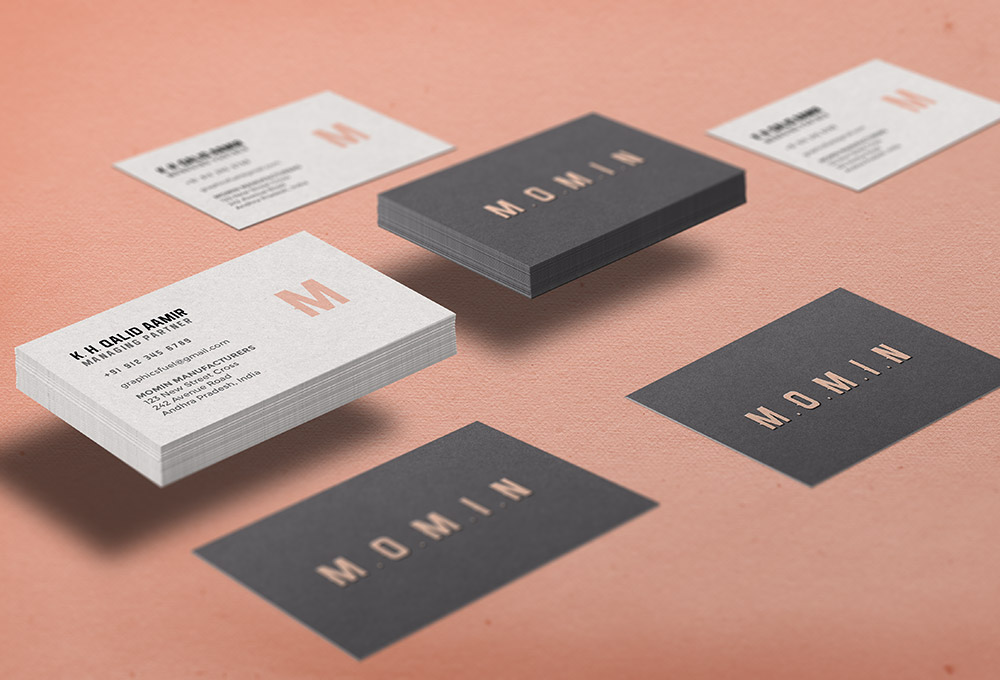 Business Card Mockup PSD - GraphicsFuel