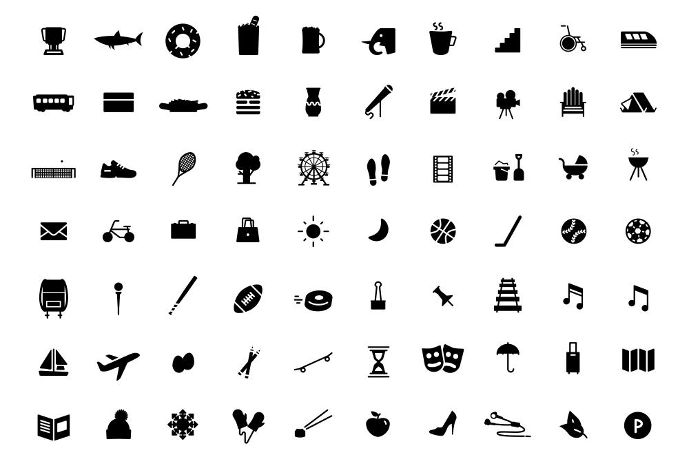 140+ Free Icons