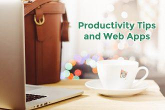 Productivity Tips & Web Apps