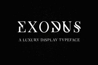 Exodus – Free Typeface
