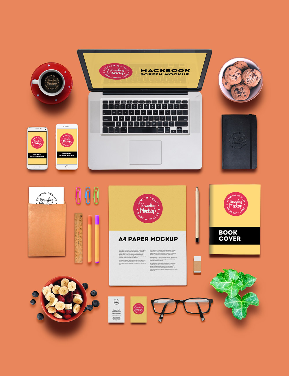 Branding And Identity Mockup Graphicsfuel