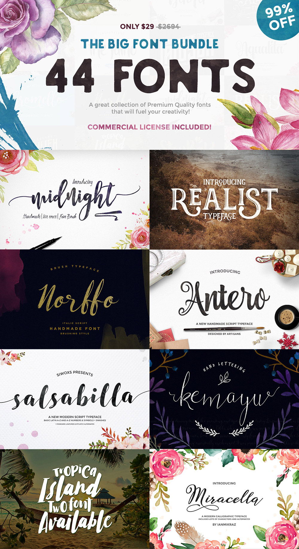 Download The Big Font Bundle - GraphicsFuel