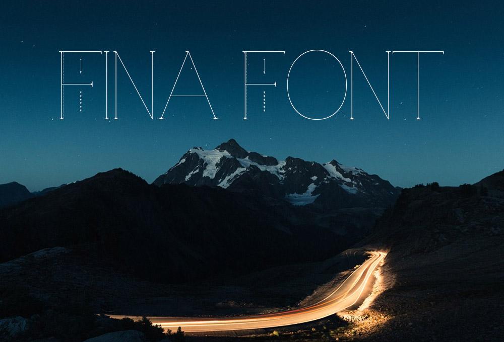 Fina Free Font