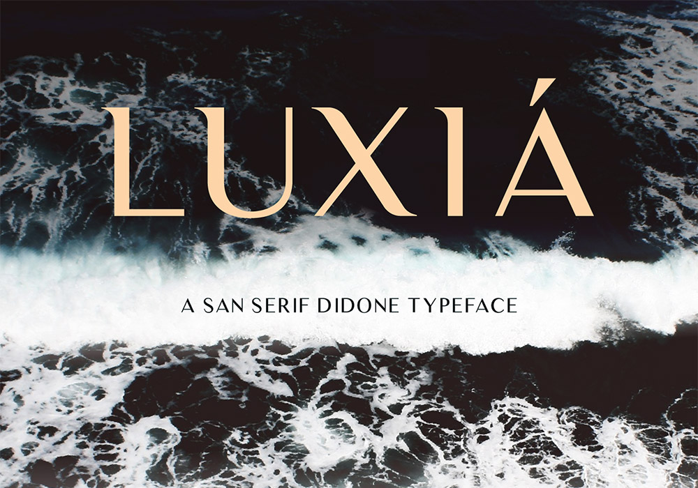 Luxia Free Font