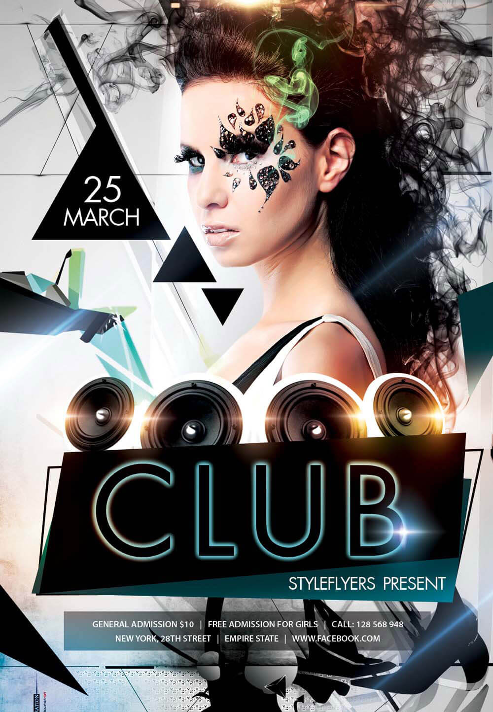 Download Flyer. Club PSD Flyer Template