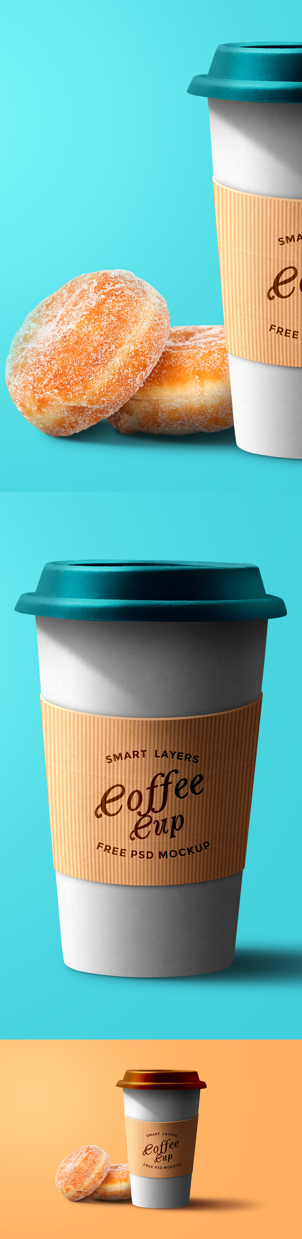 Coffee Cup PSD Template
