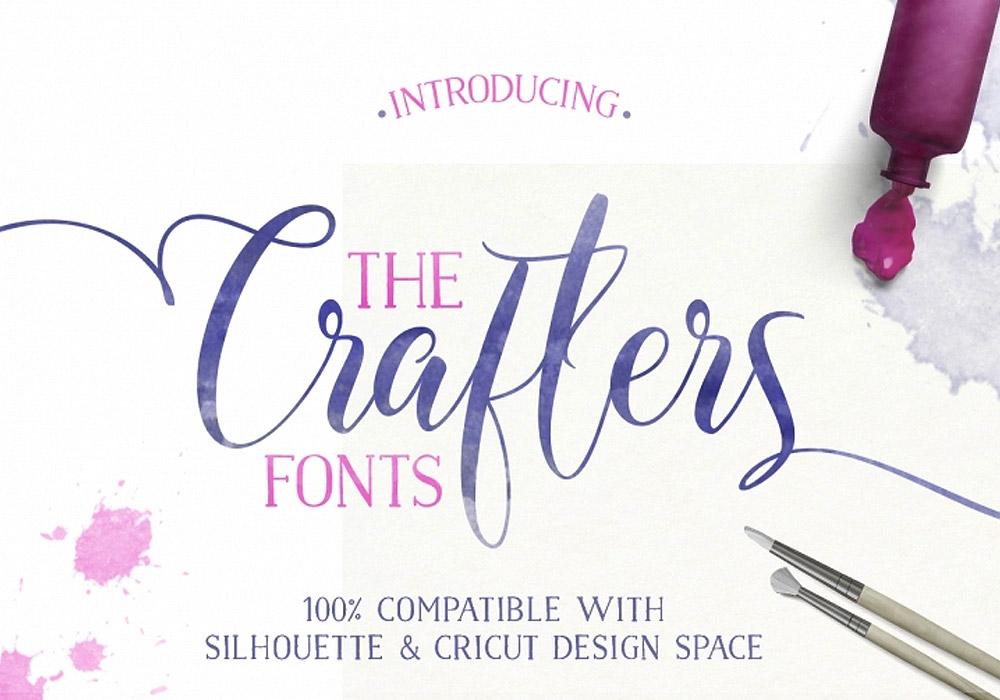 Crafters Fonts Bundle