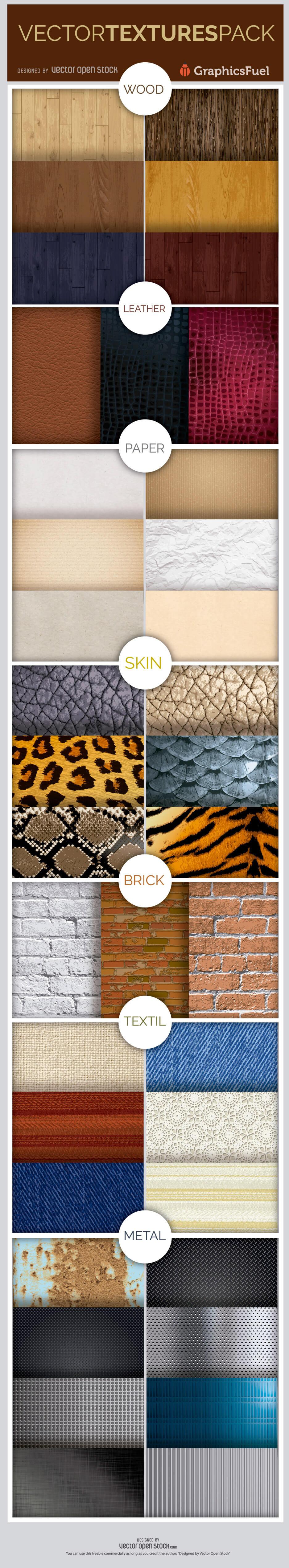 Free Vector Textures