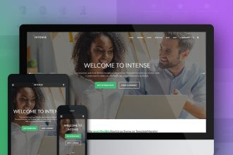 Intense Multipurpose HTML5 Website Theme