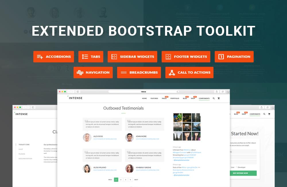 Intense Extended Bootstrap Kit