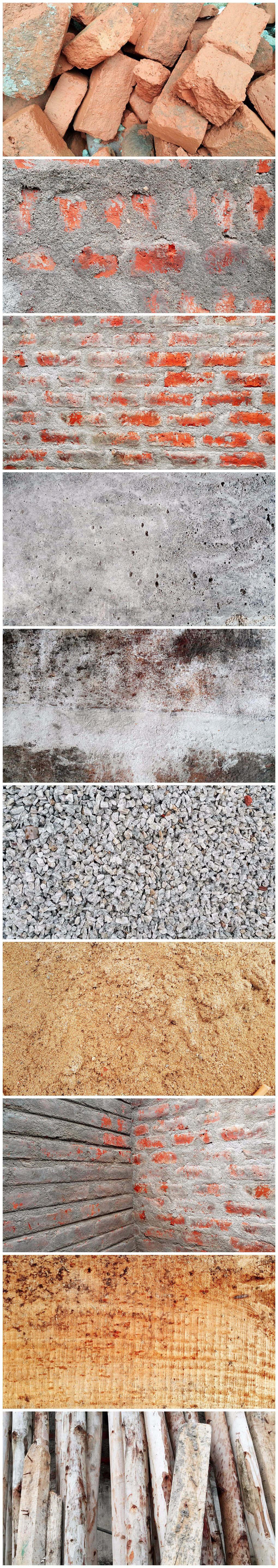 Construction Material Textures