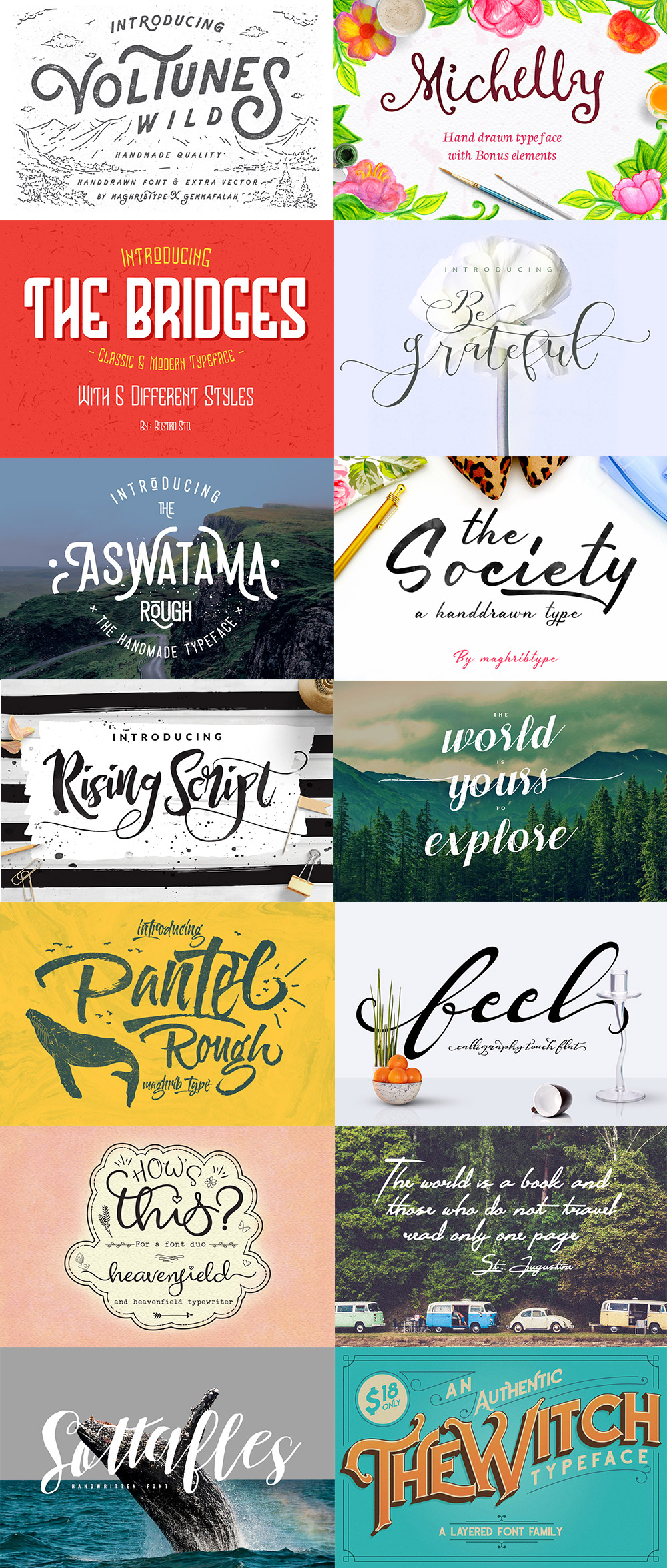 June Fonts & Graphics Bundle