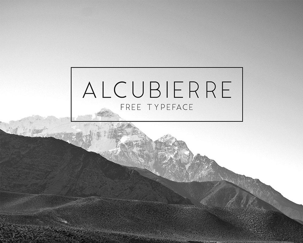 Alcubierre Free Typeface