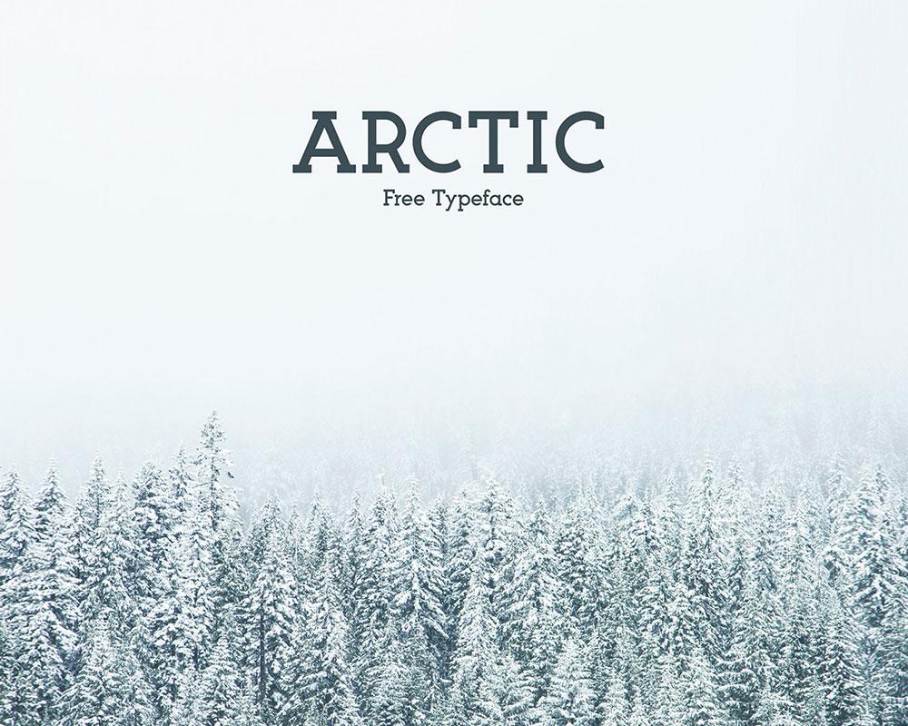 arctic-free-typeface