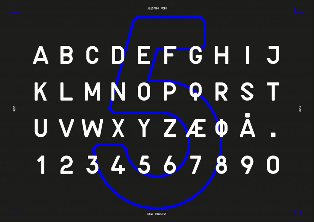NEW INDUSTRY Free Font
