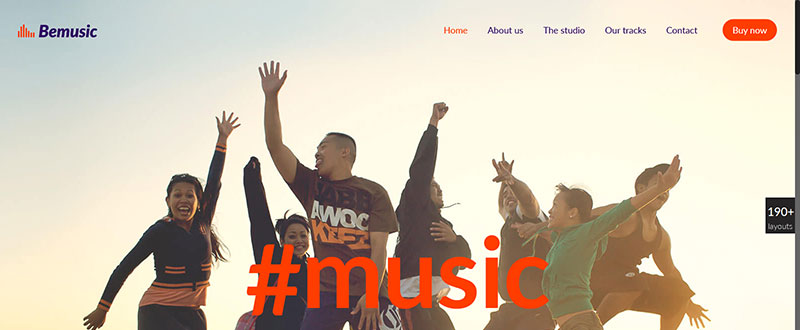 Be Music WP Theme