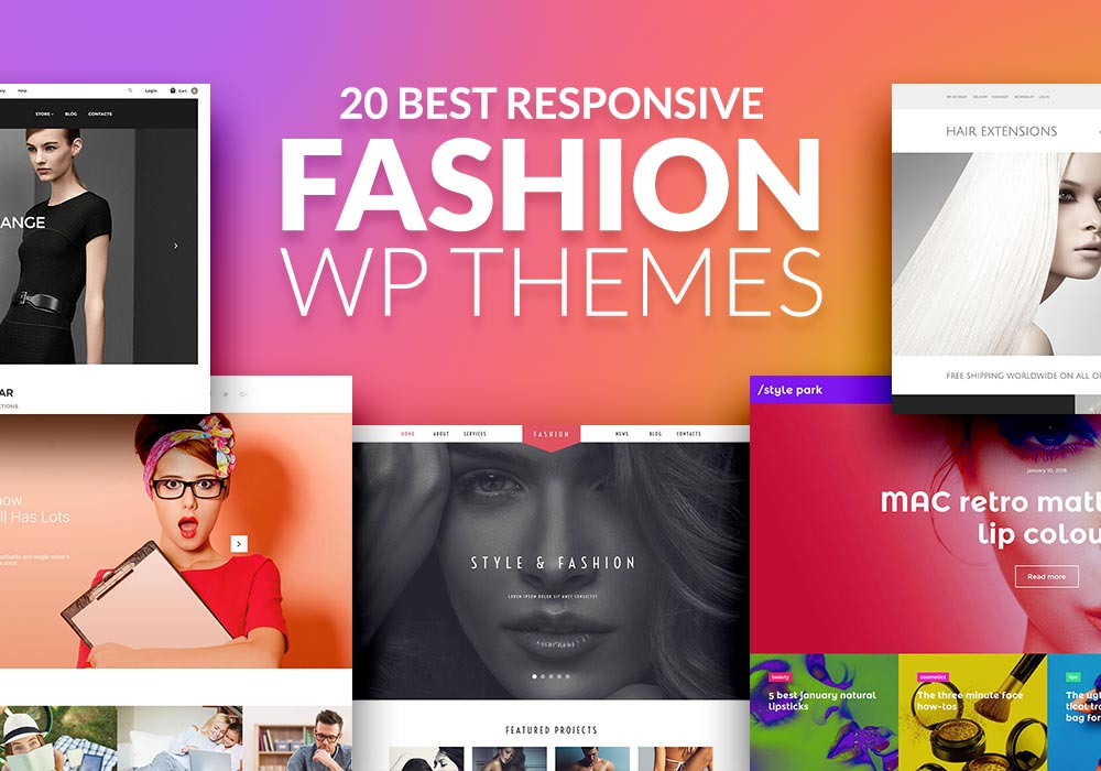20 of the Best Responsive Fashion WordPress Themes