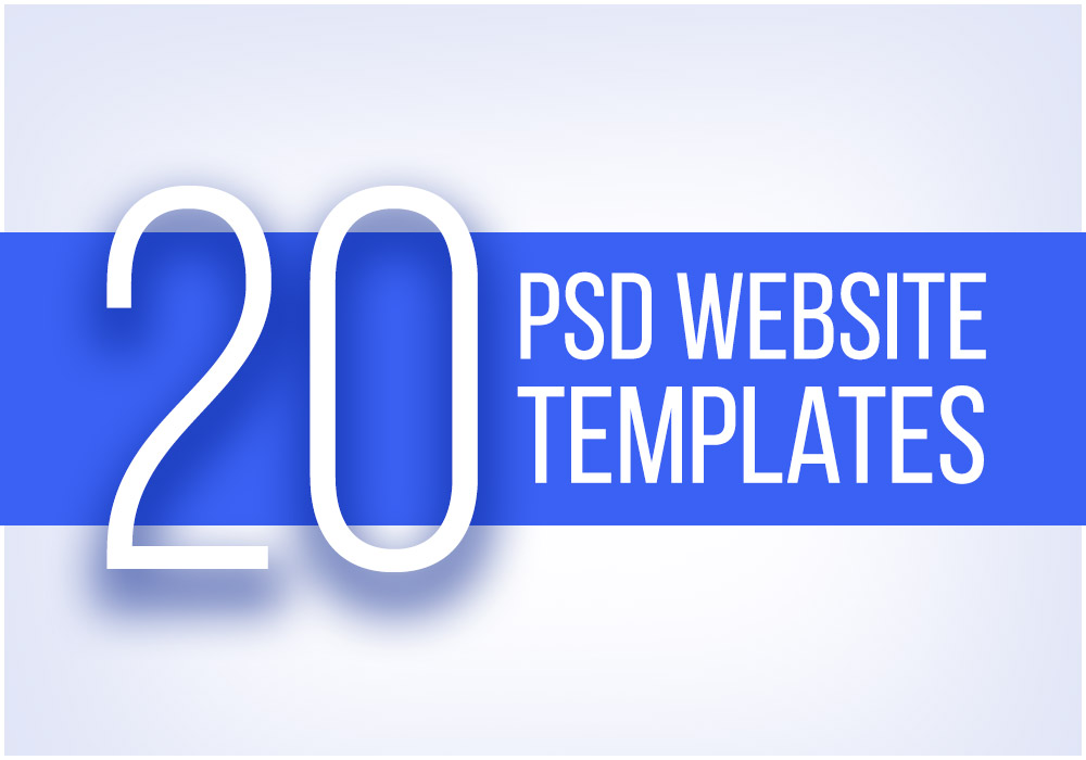 20 of the Best PSD Templates to Check out