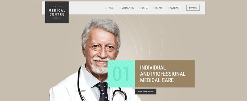 Be Medic WP Theme