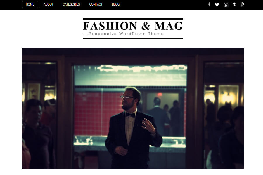 Fashion & Mag WordPress theme