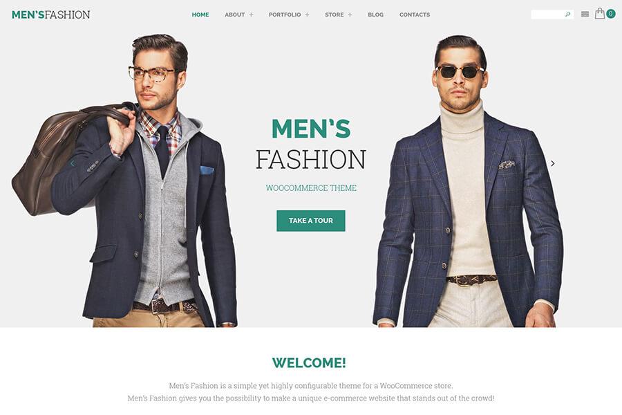 Men's Fashion WordPress theme