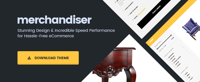 Merchandiser Ecommerce Theme