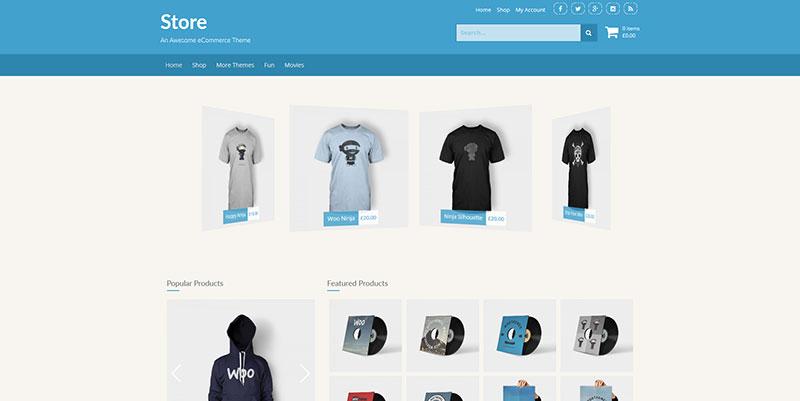 Store Ecommerce Theme