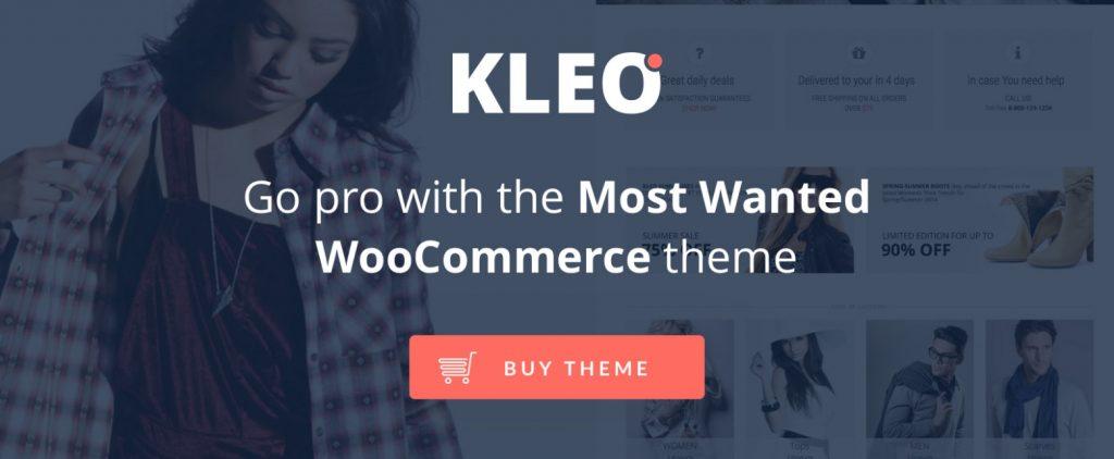 KLEO Woocommerce Theme