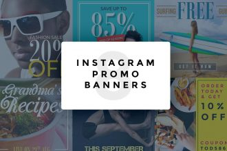 Instagram Promo Banners PSD