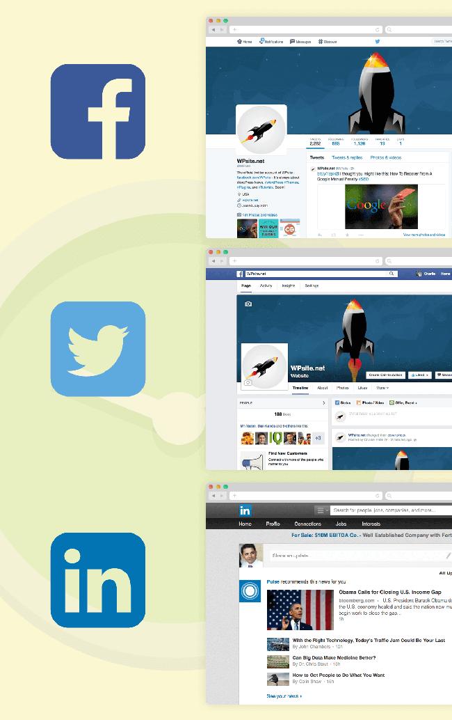 Social Media Linking