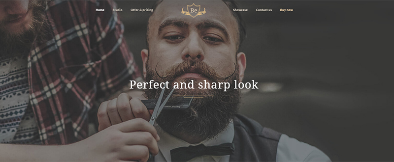 Be Barber WP Theme