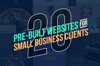 20 Pre-Built Website WP Themes